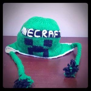 Other - Minecraft crochet wool hat